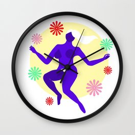 The dancer II Wall Clock