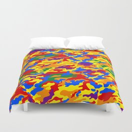 Homouflage Gay Stealth Camouflage Duvet Cover