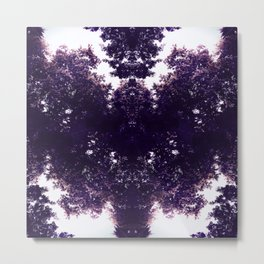 Tiles & Motifs - Purple Dragon Metal Print