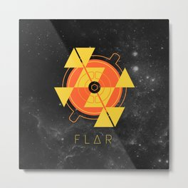 FLAR Metal Print