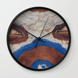 Tribal View Wall Clock
