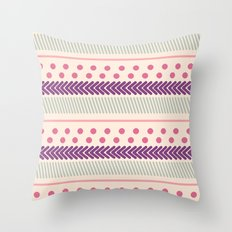 I Heart Patterns #011 Throw Pillow