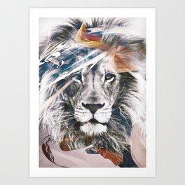 LION 6 Art Print