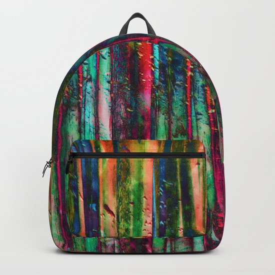 Colored Bamboo Backpack