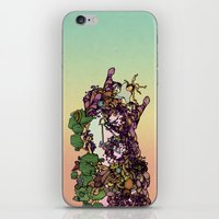 cycle iPhone & iPod Skins featuring Cycle by Anders Teigene