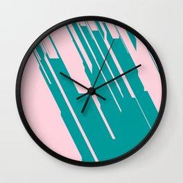Jagged Edges Wall Clock