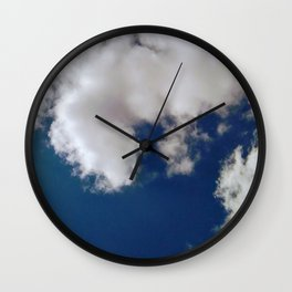 Blue skyes Wall Clock