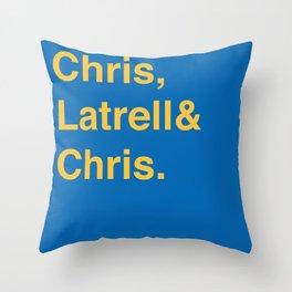 Golden State Warriors (classic) Throw Pillow