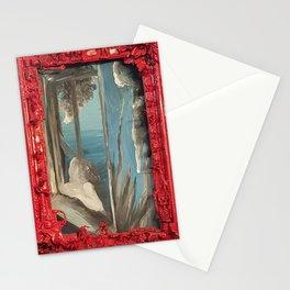 Window Girl Stationery Cards