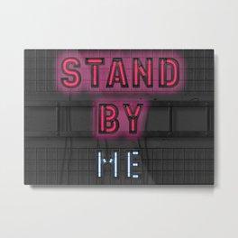 Stand By - Night - Social Distance - Shutdown Metal Print