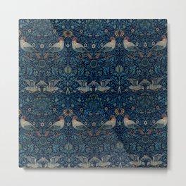 "William Morris ""Bird"" Metal Print"