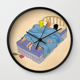 Untitled (the lost digest) Wall Clock