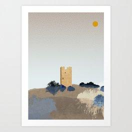 Frankish Medieval Tower Art Print