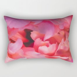 Love and the Peony Rectangular Pillow