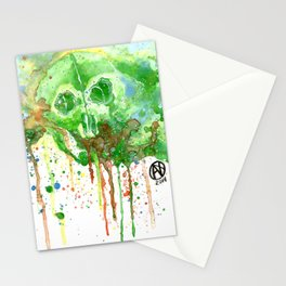 Colors Skull Stationery Cards