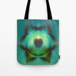 Heartspace in Greendom Tote Bag