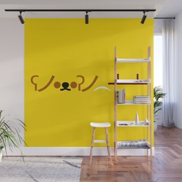 ʕノ•ᴥ•ʔノ ︵ ┻━┻ Bear Table Flip! Wall Mural