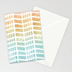 Gradient Boho Pattern Stationery Cards