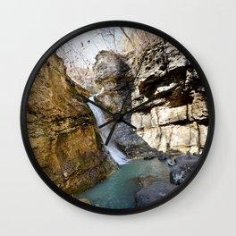 Buffalo River - Lost Valley Series, No. 2 Wall Clock