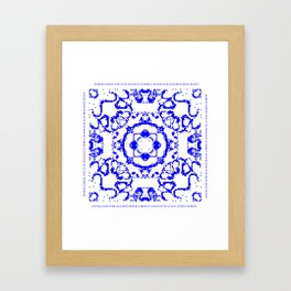 CA Fantasy Blue series #5 Framed Art Print