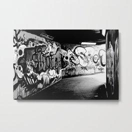 Graffiti - Belfast Metal Print