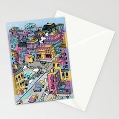 Tiny Town Stationery Cards