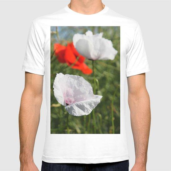 White Poppy T-shirt