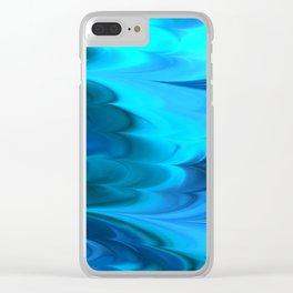 Wave Caustics I Clear iPhone Case