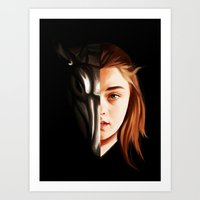 arya Art Prints featuring I Can be Your Family by Han Jihye