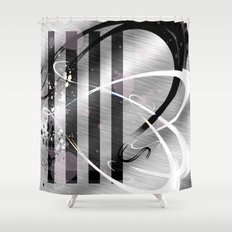 Particle Accelerator II Shower Curtain