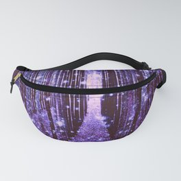 Magical Forest Purple Fanny Pack