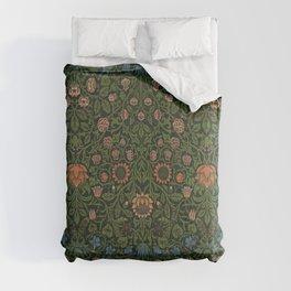 Violet and Columbine - William Morris Comforters