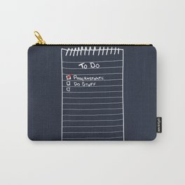 Todo List Carry-All Pouch