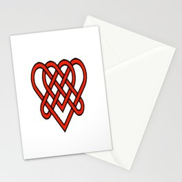 Celtic He Loves Me He Loves Me Knot Stationery Cards