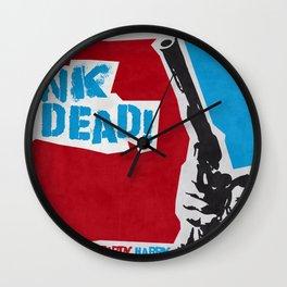Punky Harry Wall Clock