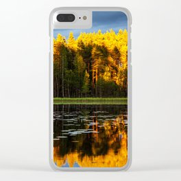 Autumn Everything Clear iPhone Case