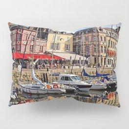Honfleur Pretty As A Postcard Pillow Sham