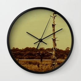 Lonely Crow Wall Clock