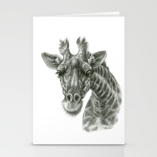 The giraffe G2012-049 Stationery Cards