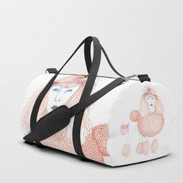 Weird poodles - Ginger dye Duffle Bag