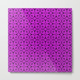 My Lucky Day Dazzling Violet Metal Print