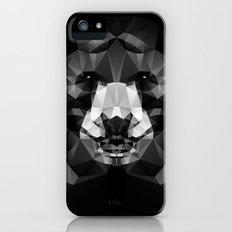 Bear - Black Geo Animal Series iPhone (5, 5s) Slim Case