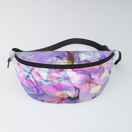 LILY IN LILAC AND LIGHT Fanny Pack