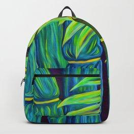 ʻOhe Polū - Blue Bamboo Backpack