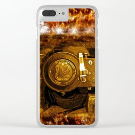 Vintage Victor Camera HDR Clear iPhone Case