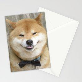 macho gentleman Stationery Cards