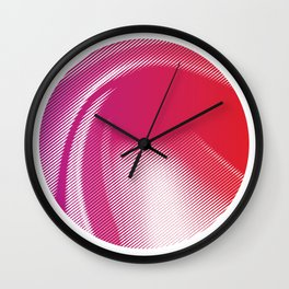 Colorful Abstract Background Wall Clock