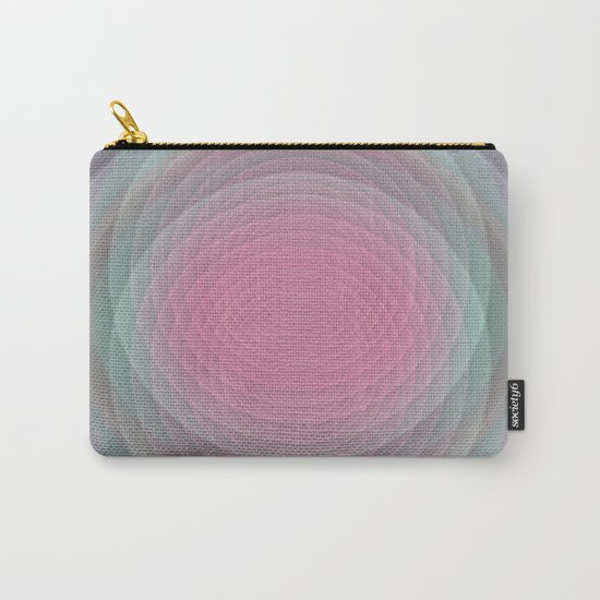 Patterns, Pastels and Motion Abstract Carry-All Pouch