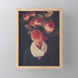 The smile of Roses Framed Mini Art Print