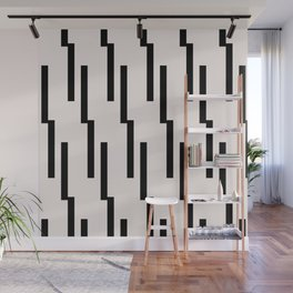 Simple geometric pattern - Lightning Geo Wall Mural